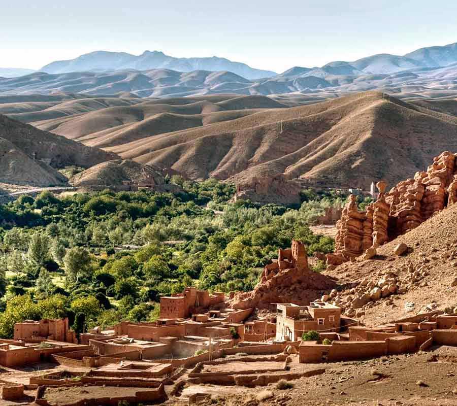 Tour en moto Marruecos